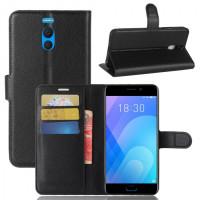 Чохол (книжка) Wallet з візитницею для Meizu M6 Note