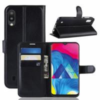 Чохол (книжка) Wallet з візитницею для Samsung Galaxy M10