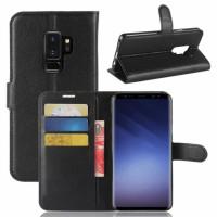 Купить Кожаный чехол (книжка) Wallet с визитницей для Samsung Galaxy S9+, Epik