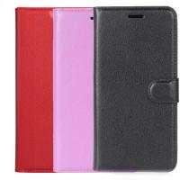 Купить Кожаный чехол (книжка) Wallet с визитницей для Samsung Galaxy J2 Pro (2018) (J250F), Epik