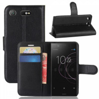 Чохол (книжка) Wallet з візитницею для Sony Xperia XZ1 Compact