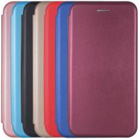 Кожаный чехол (книжка) Classy для Huawei Y6p