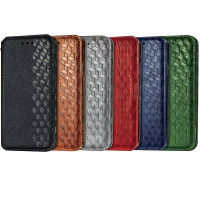 Кожаный чехол книжка GETMAN Cubic (PU) для Samsung Galaxy A31