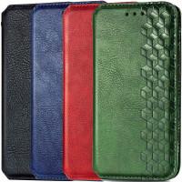 Кожаный чехол книжка GETMAN Cubic (PU) для Oppo A72