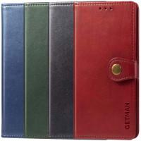 Кожаный чехол книжка GETMAN Gallant (PU) для Samsung Galaxy A71