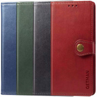 Кожаный чехол книжка GETMAN Gallant (PU) для Xiaomi Mi Note 10 Pro