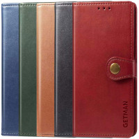 Кожаный чехол книжка GETMAN Gallant (PU) для Xiaomi Redmi Note 9