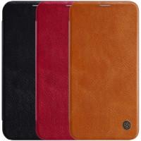 "Кожаный чехол (книжка) Nillkin Qin Series для Apple iPhone 12 mini (5.4"")"