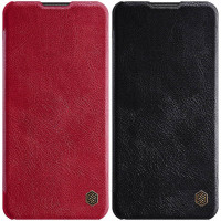 Кожаный чехол (книжка) Nillkin Qin Series для Samsung Galaxy A21