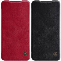 Кожаный чехол (книжка) Nillkin Qin Series для Xiaomi Redmi 10X