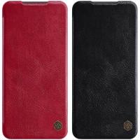 Кожаный чехол (книжка) Nillkin Qin Series для Xiaomi Redmi Note 9s