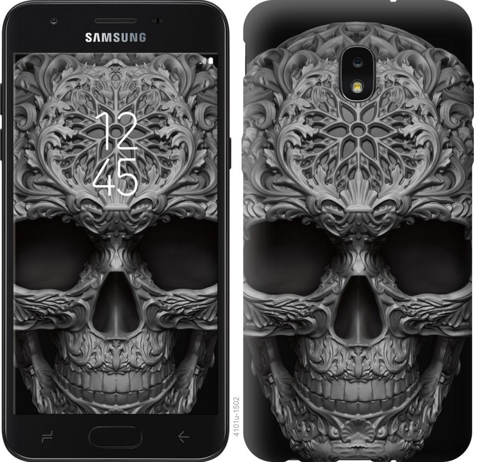 Чехол на Samsung Galaxy J7 2018 skull-ornament