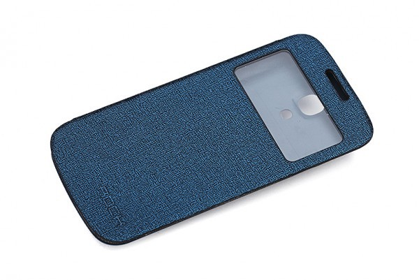 Заказать Крышка-книжка Rock Magic Window Series для Samsung i9192/i9190/i9195 Galaxy S4 mini Синий / Dark Blue на itsell.ua