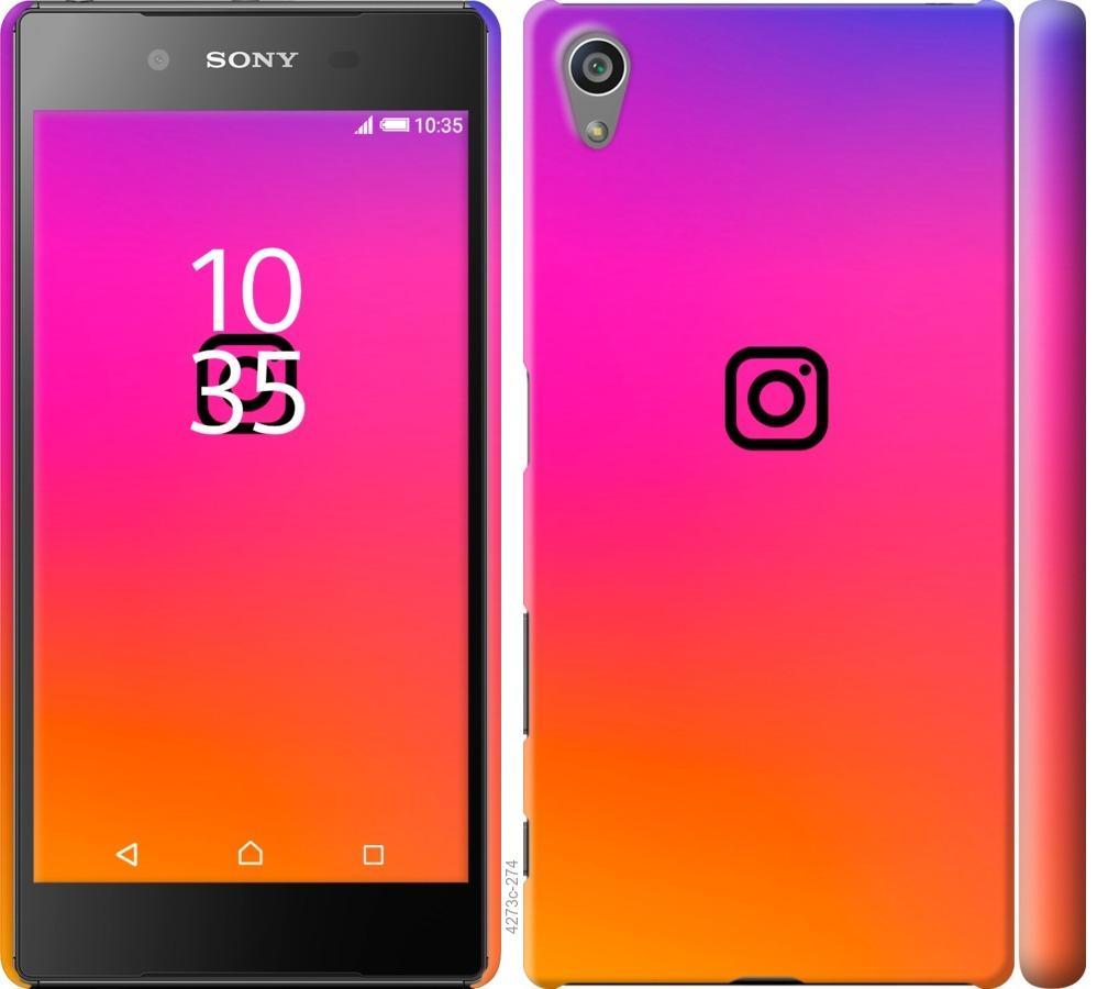 Чехол на Sony Xperia Z5 E6633 Instagram