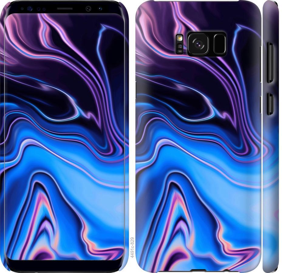 Чехол на Samsung Galaxy S8 Узор воды