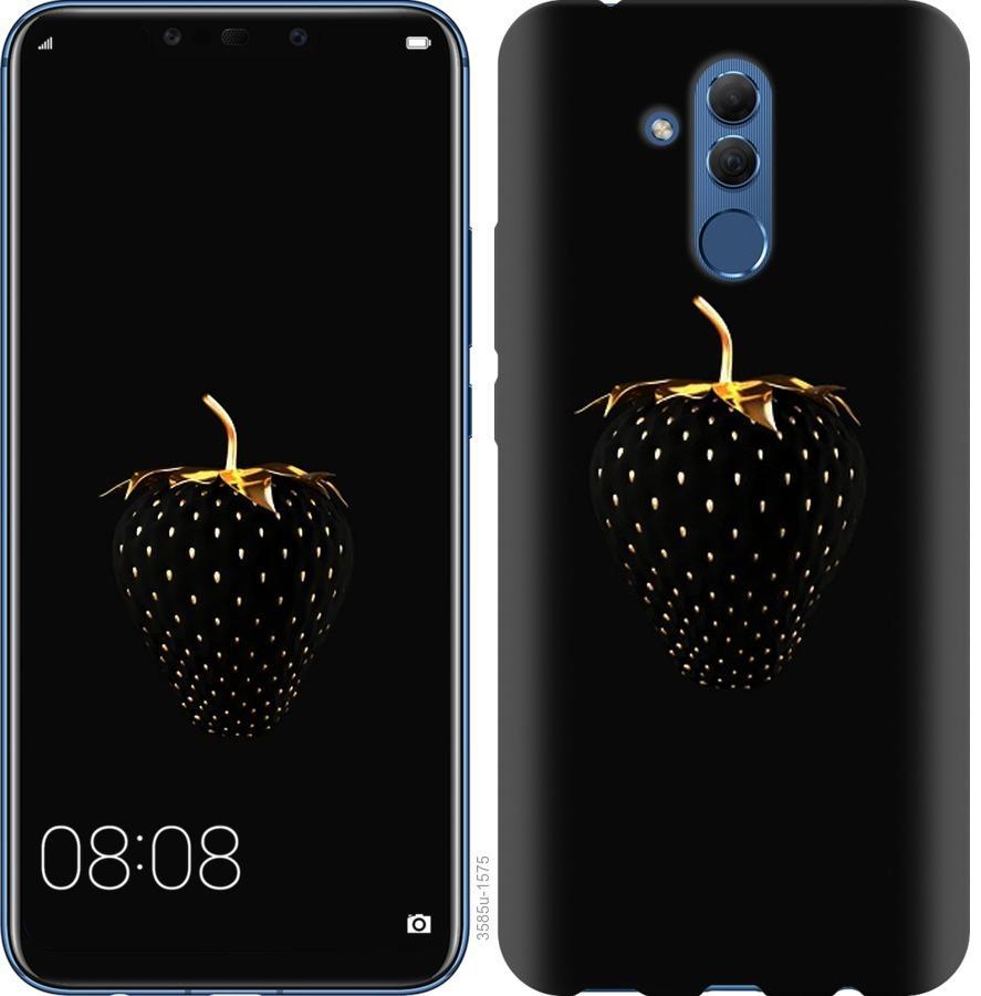 Чехол на Huawei Mate 20 Lite Черная клубника