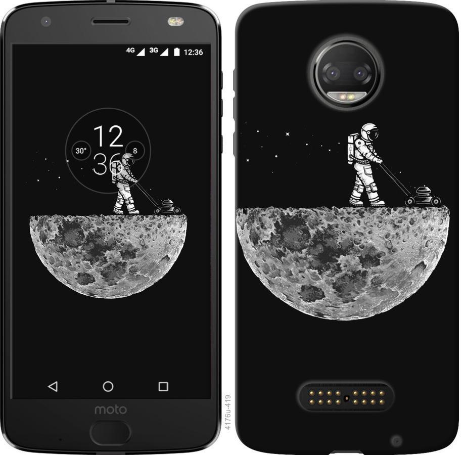 Чехол на Motorola Moto G5 PLUS Moon in dark