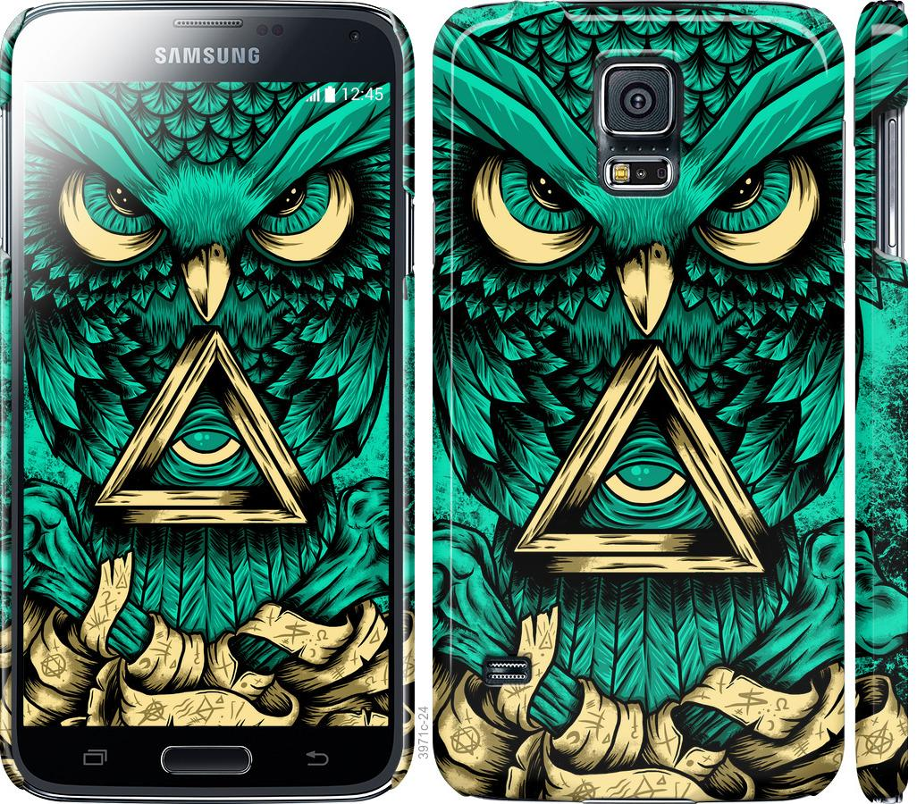 Чехол на Samsung Galaxy S5 g900h Сова Арт-тату