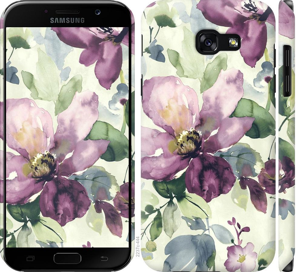 Чохол на Samsung Galaxy A5 (2017) Квіти аквареллю