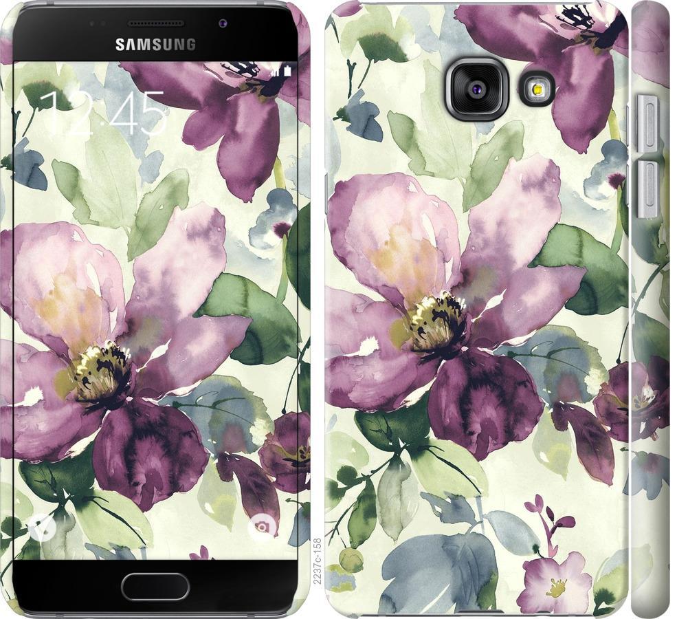 Чехол на Samsung Galaxy A5 (2016) A510F Цветы акварелью