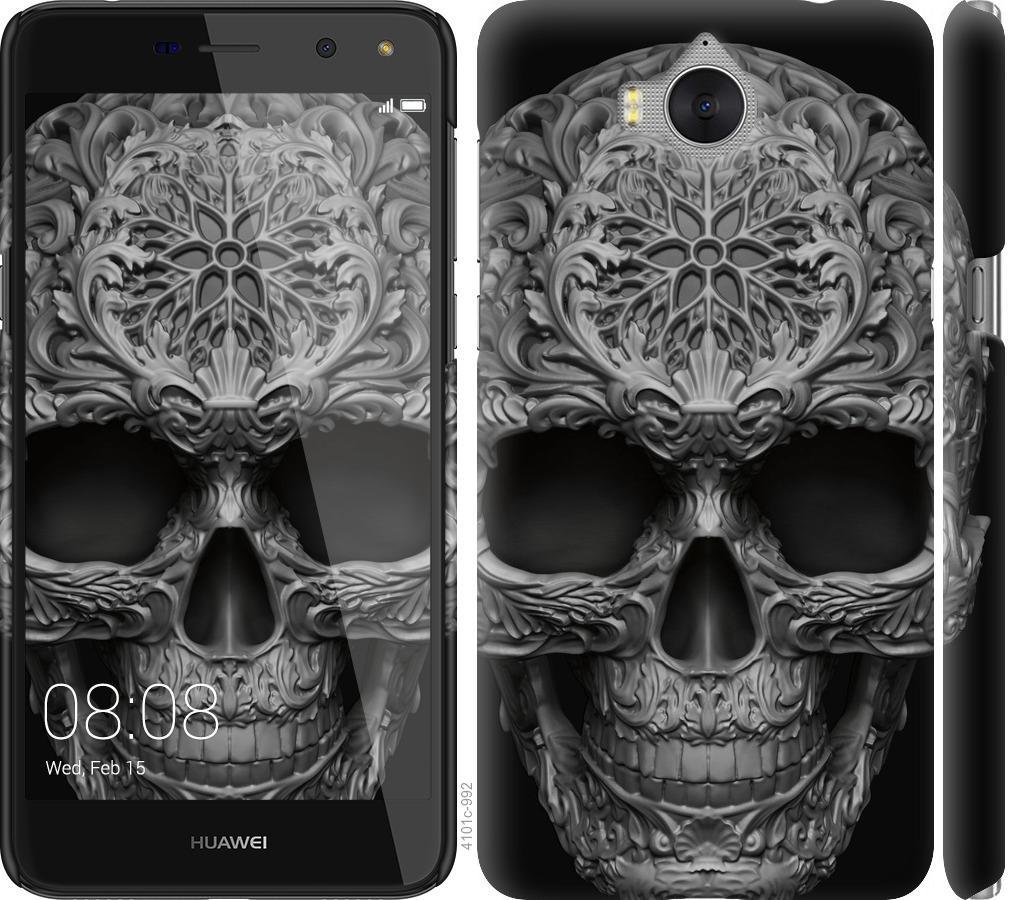 Чехол на Huawei Y5 2017 skull-ornament