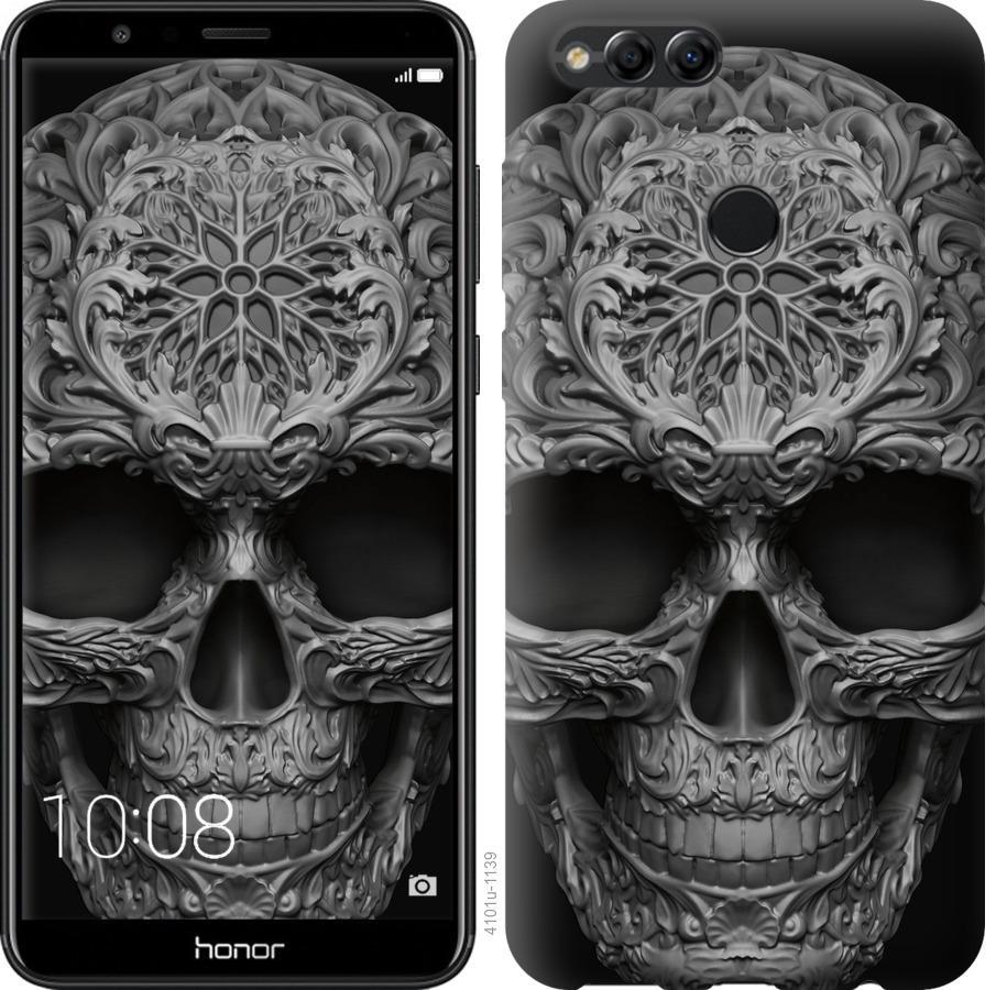 Чехол на Huawei Honor 7X skull-ornament