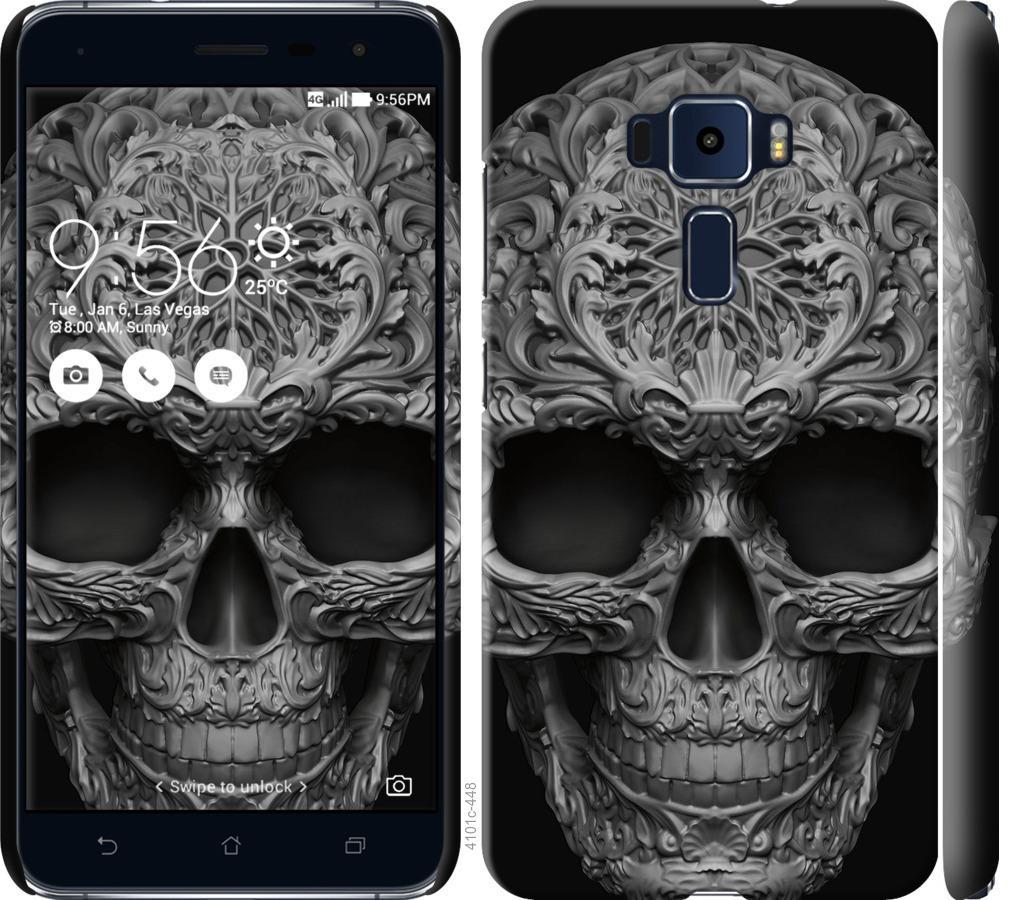 Чехол на Asus Zenfone 3 ZE552KL skull-ornament