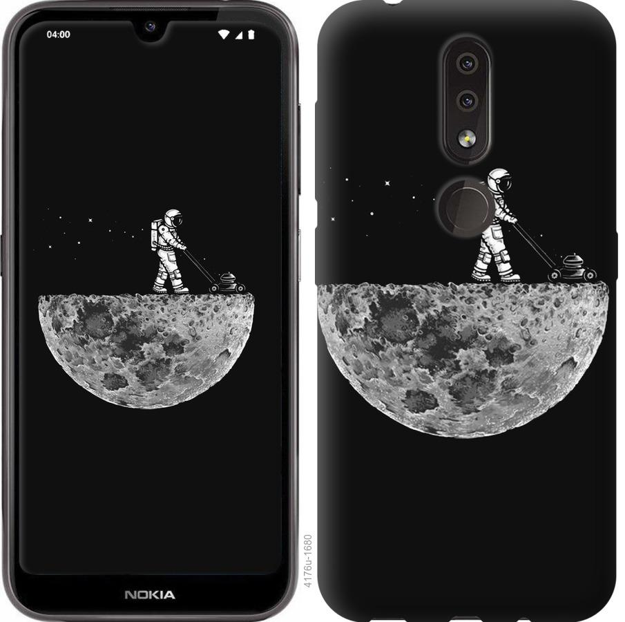 Чехол на Nokia 4.2 Moon in dark