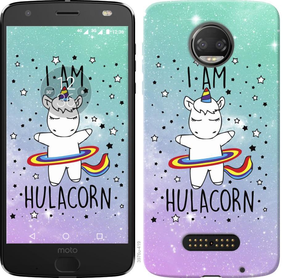 Чехол на Motorola Moto G5 PLUS Im hulacorn
