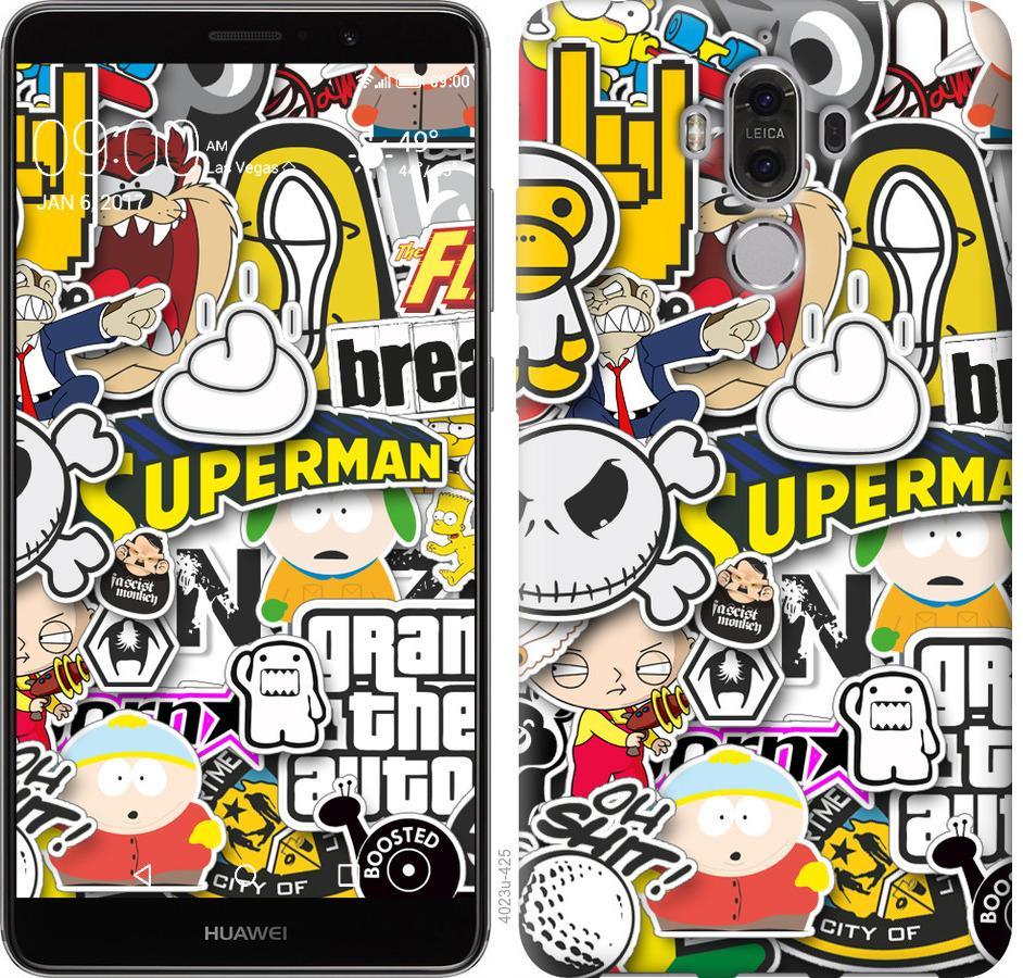 Чохол на Huawei Mate 9 Popular logos