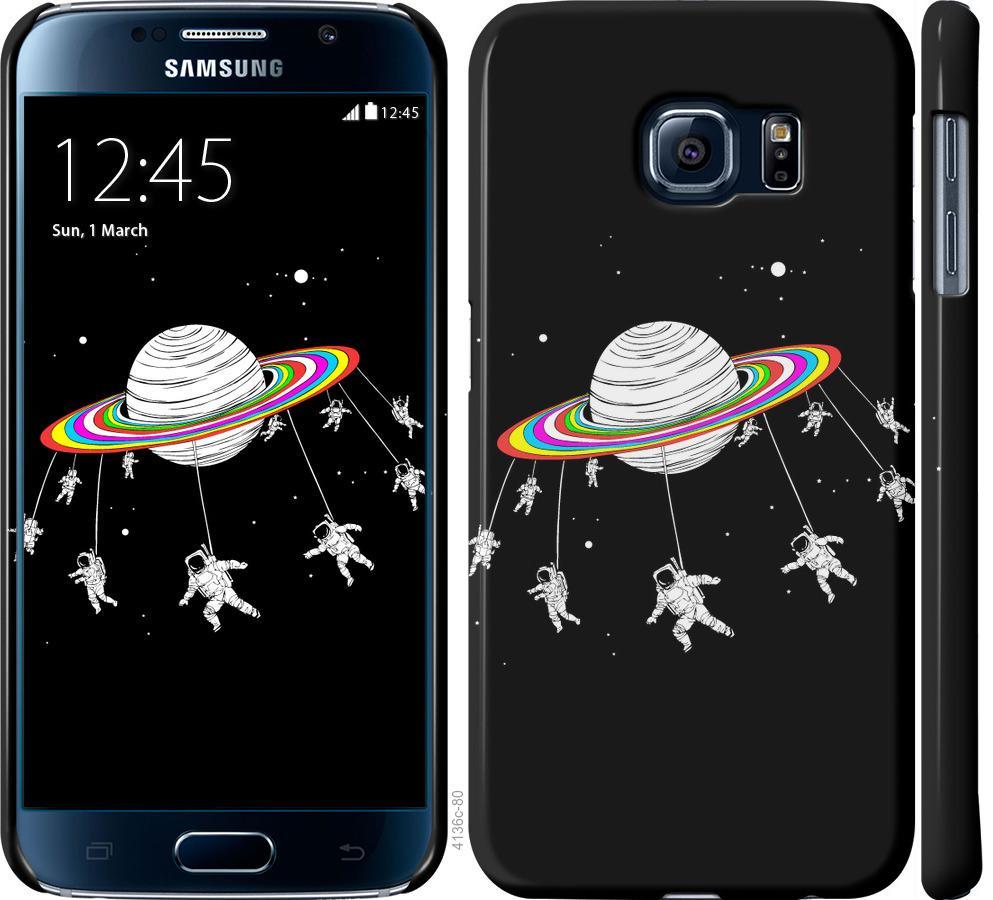Чехол на Samsung Galaxy S6 G920 Лунная карусель