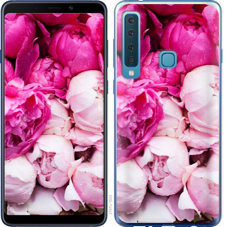 Чехол на Samsung Galaxy A9 (2018) Розовые пионы