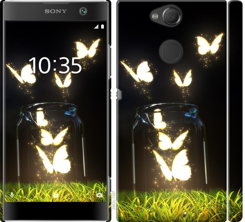 Чехол на Sony Xperia XA2 H4113 Бабочки