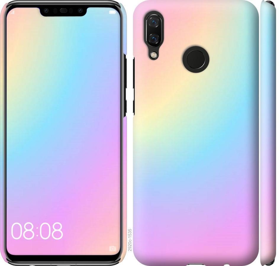 Чехол на Huawei Nova 3 Радуга 2