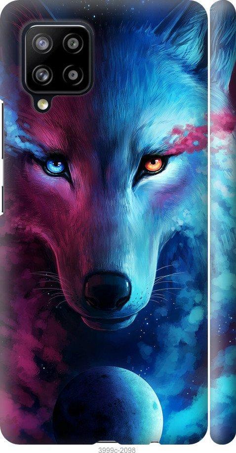 Чехол на Samsung Galaxy A42 A426B Арт-волк