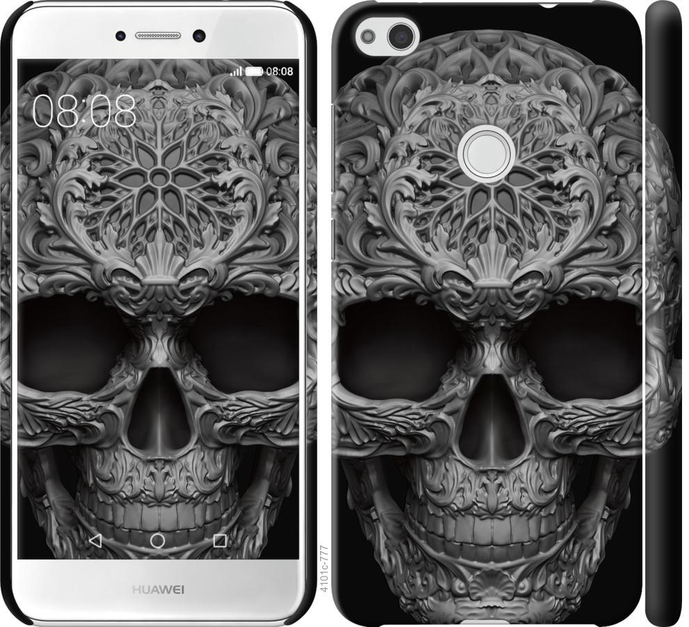 Чехол на Huawei P8 Lite (2017) skull-ornament