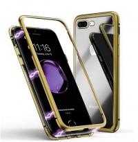 Купить Metal+Glass чехол с магнитной защелкой для Apple iPhone 7 plus / 8 plus (5.5 ), Epik