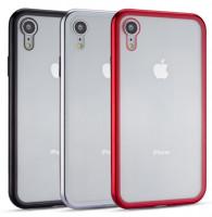 Купить Metal+Glass чехол с магнитной защелкой для Apple iPhone XR (6.1 ), Epik