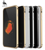 Металевий бампер Luphie з акриловою вставкою для Apple iPhone 7 (4.7'')