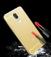 Металевий бампер з акриловою вставкою з дзеркальним покриттям для Xiaomi Mi 5s Plus