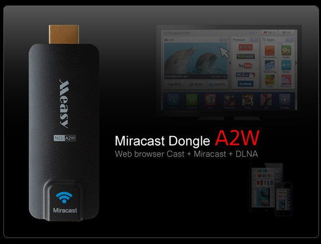 Фото Miracast TV dongle MEASY (A2W) на itsell.ua
