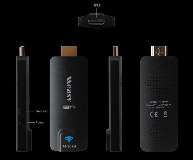 Купить Miracast TV dongle MEASY (A2W) на itsell.ua