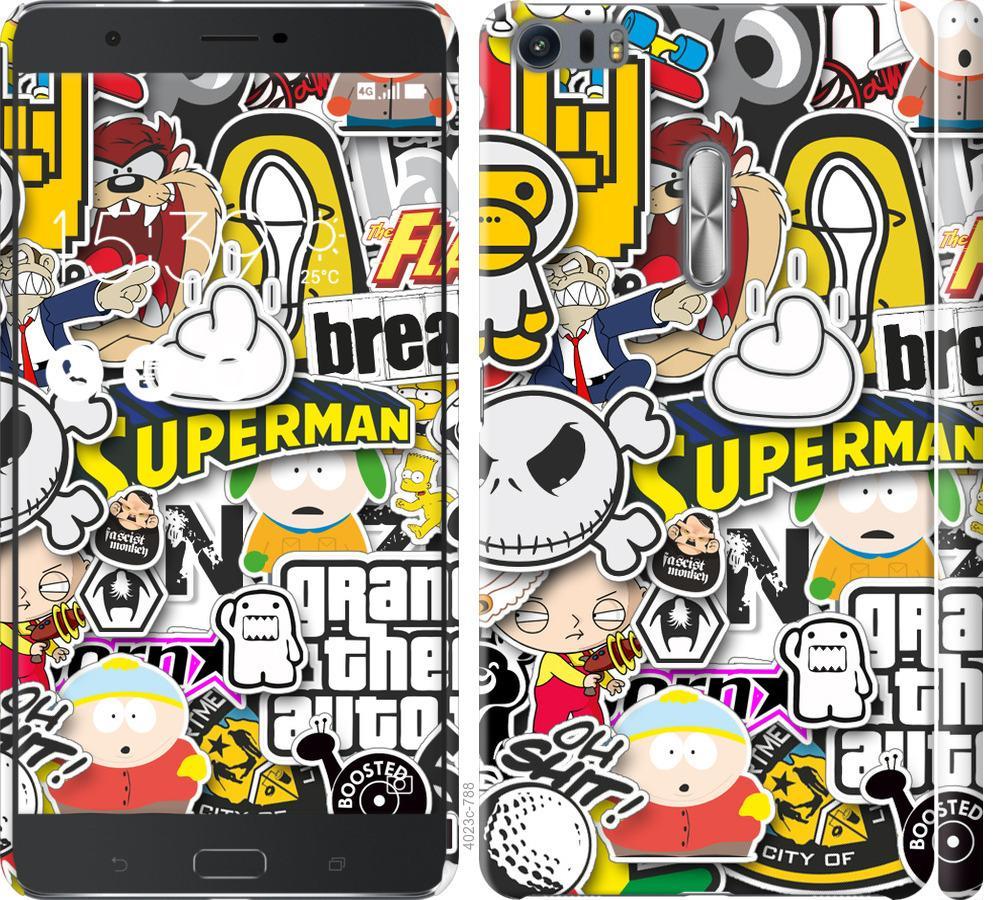 Чехол на Asus Zenfone 3 Ultra ZU680KL Popular logos