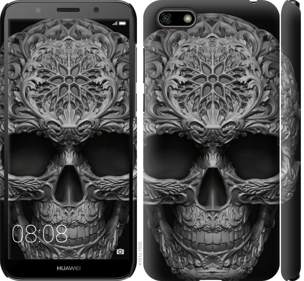 Чехол на Huawei Honor 7A skull-ornament