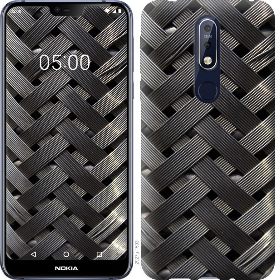 Чехол на Nokia 7.1 Металлические фоны