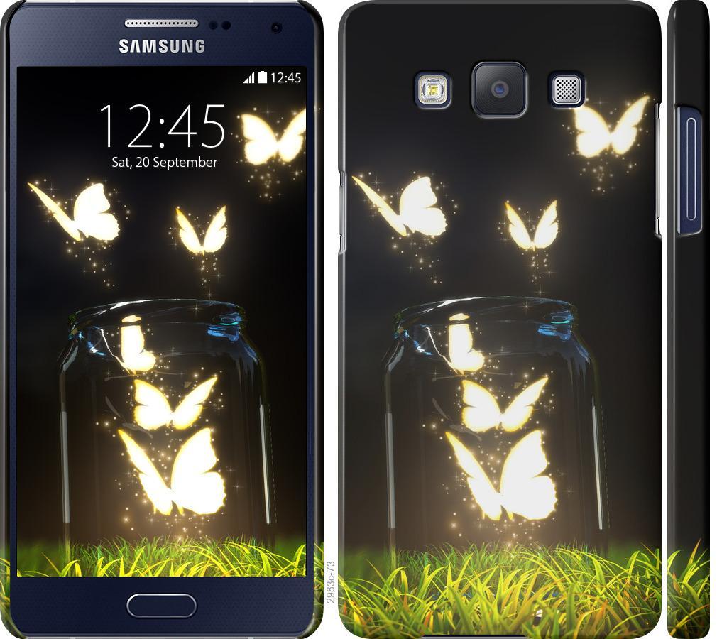 Чехол на Samsung Galaxy A5 A500H Бабочки