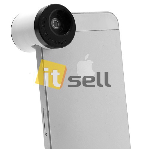 Фото Набор линз 3 в 1 TEOG для Apple iPhone 5/5S/SE в магазине itsell.ua