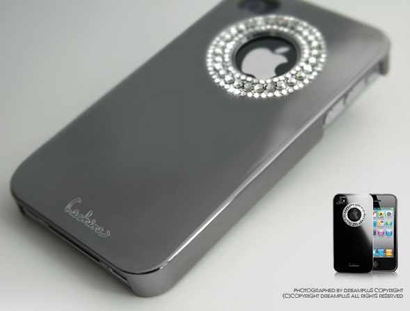 Накладка Dreamplus Eileen Circle Lime Series для iPhone 4/4S (+ пленка)