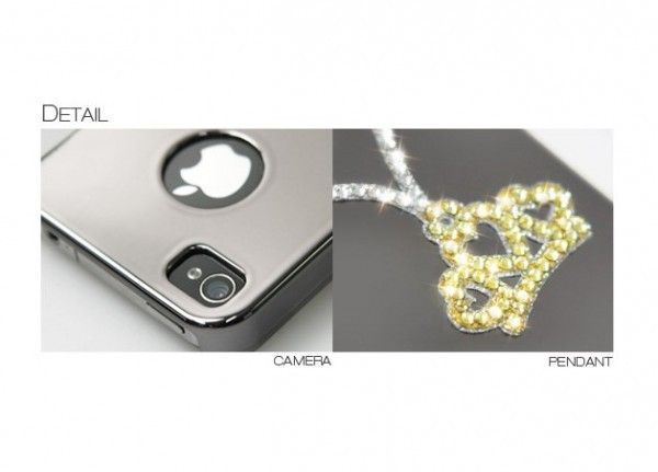 Фото Накладка Dreamplus Eileen Collar Series для Apple iPhone 5 (+ пленка) Тиара на itsell.ua