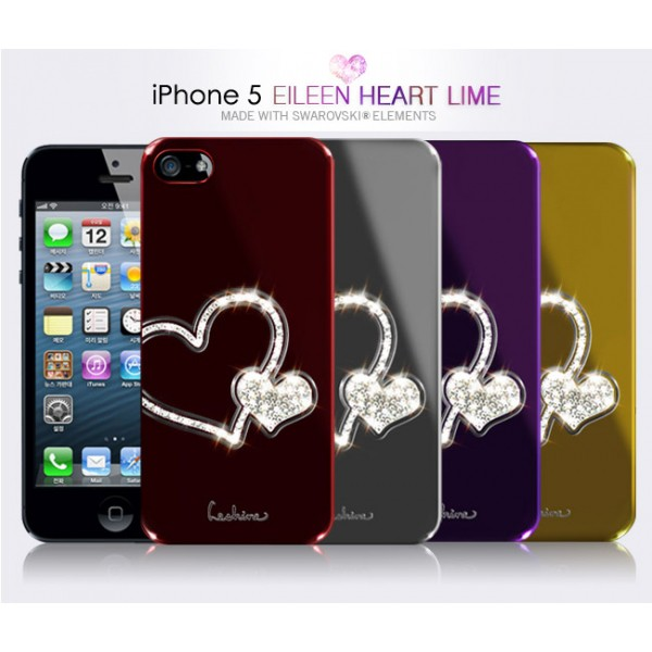 Накладка Dreamplus Eileen Heart Lime Series для Apple iPhone 5/5S (+ пленка)